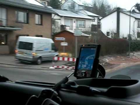 Ortsdurchfahrt Hillesheim-Eifel nach Gerolstein im Volvo FH12