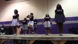 Alpha Kappa Alpha Sorrority Inc Wiley College Meet the Greeks 2014
