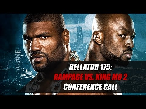 Rampage Jackson and King Mo Argue on Bellator 175 Conference Call