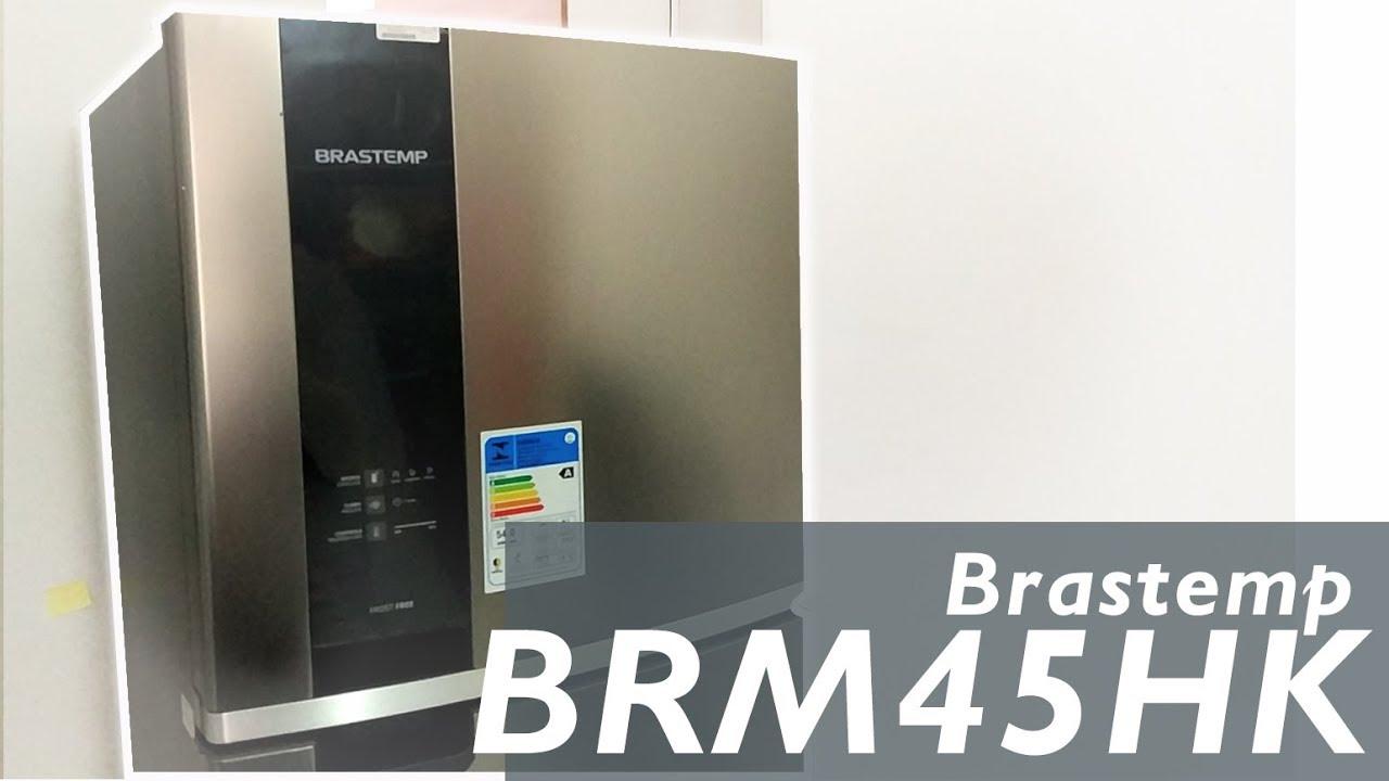 54f434223 Unboxing Refrigerador Brastemp BRM45 - YouTube