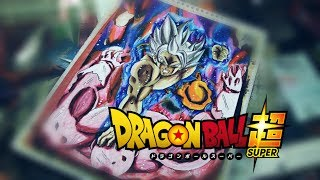 Goku VS Jiren - Dragon Ball Super - Drawing
