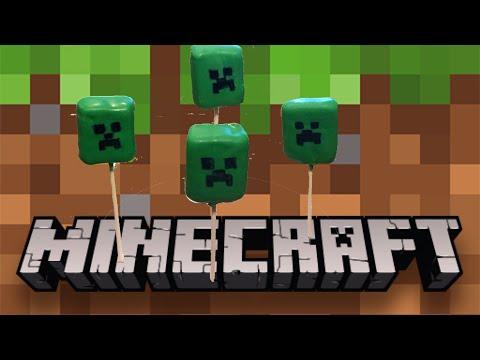 Easy Minecraft Creeper Pops