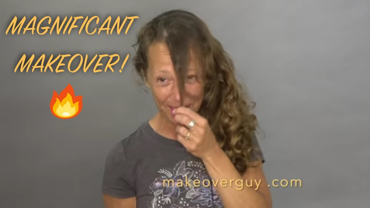 I've Never Liked My Fuzzy Curly Hair: A MAKEOVERGUY® Makeover