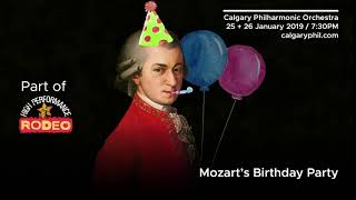 Mozart's Birthday Party Bumper