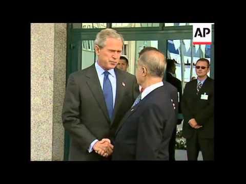 NATO session opens, plus arrivals