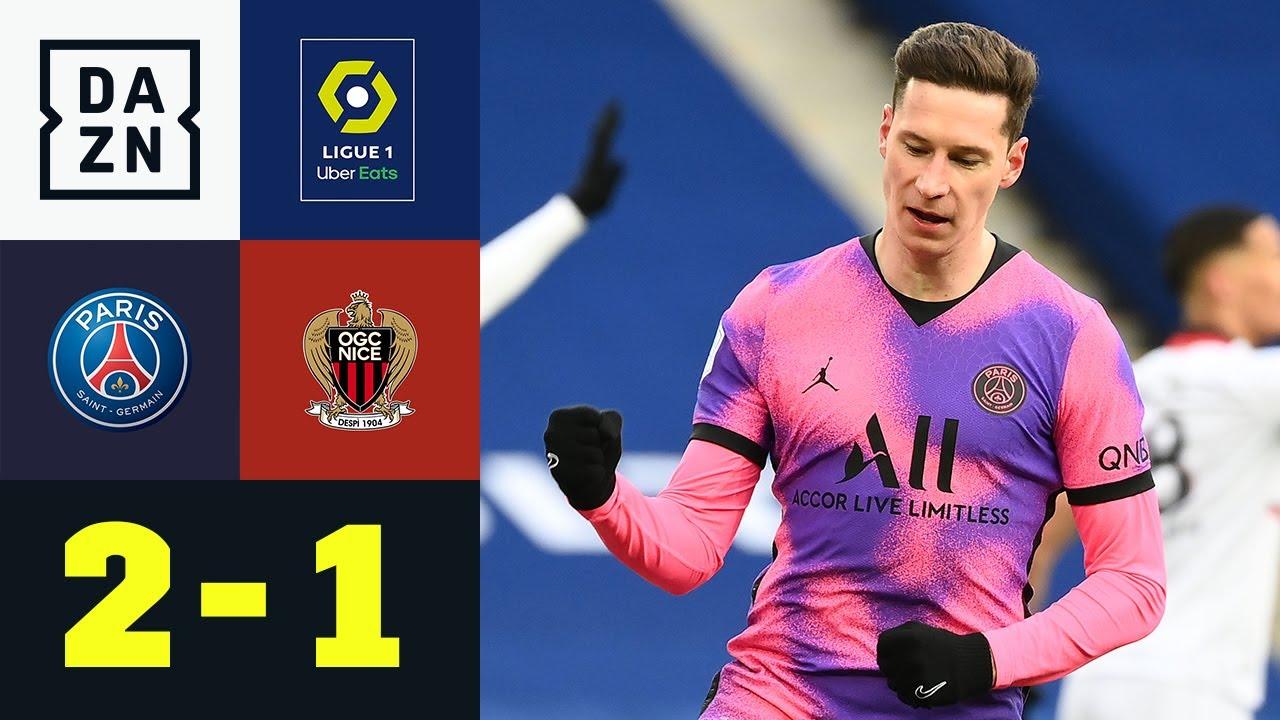 Çok güzel! Draxler Abi mit Startelf-Treffer im Jordan-Trikot: PSG - Nizza  2:1   Ligue 1