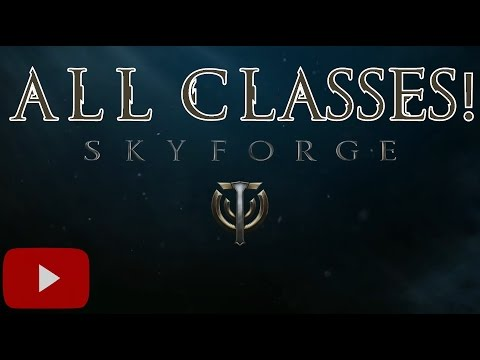 All 13 Skyforge Classes  (Mmorpg)
