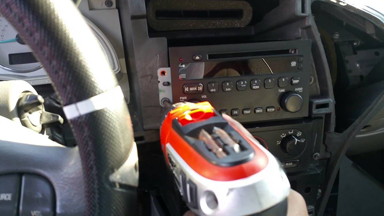 Buick Rendezvous - Installing an aftermarket stereo - YouTubeYouTube