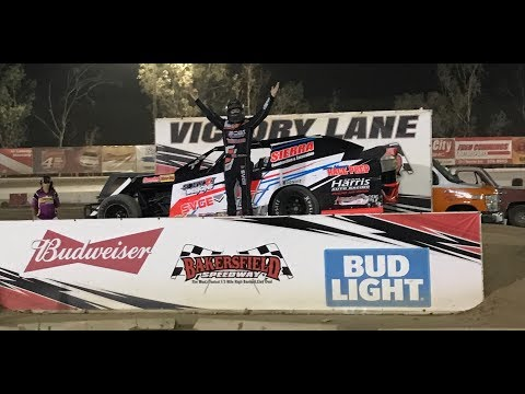 Mike Moshier Classic Sport Mod Feature 8-26-17 Bakersfield Speedway