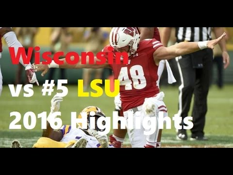 Wisconsin vs #5 LSU Highlights: 2016
