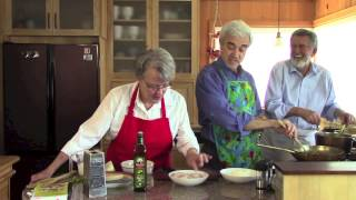 Michael Miropolsky Cooks Angel Hair Pasta With Scallops