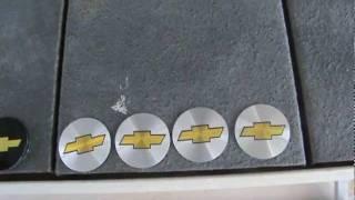 Chevy truck  wheel center cap Bow Tie  sticker replacements