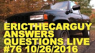Etcg Answers Questions Live #76 (Ama) 10/26/2016