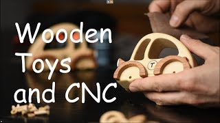 Tips and Tricks on making Wooden Toys using a CNC router