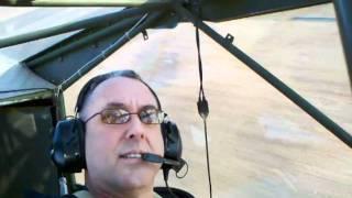 George Marrett 1945 Stinson L-5E Touch & Go Paso Robles Estrella Warbird
