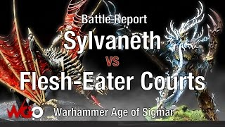 Video Warhammer Age of Sigmar Sylvaneth vs Flesh-Eater Courts Battle Report download MP3, 3GP, MP4, WEBM, AVI, FLV Januari 2018