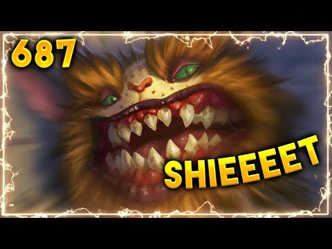 RUSHERONY MISTAKERONY.. | Hearthstone Daily Moments Ep. 687