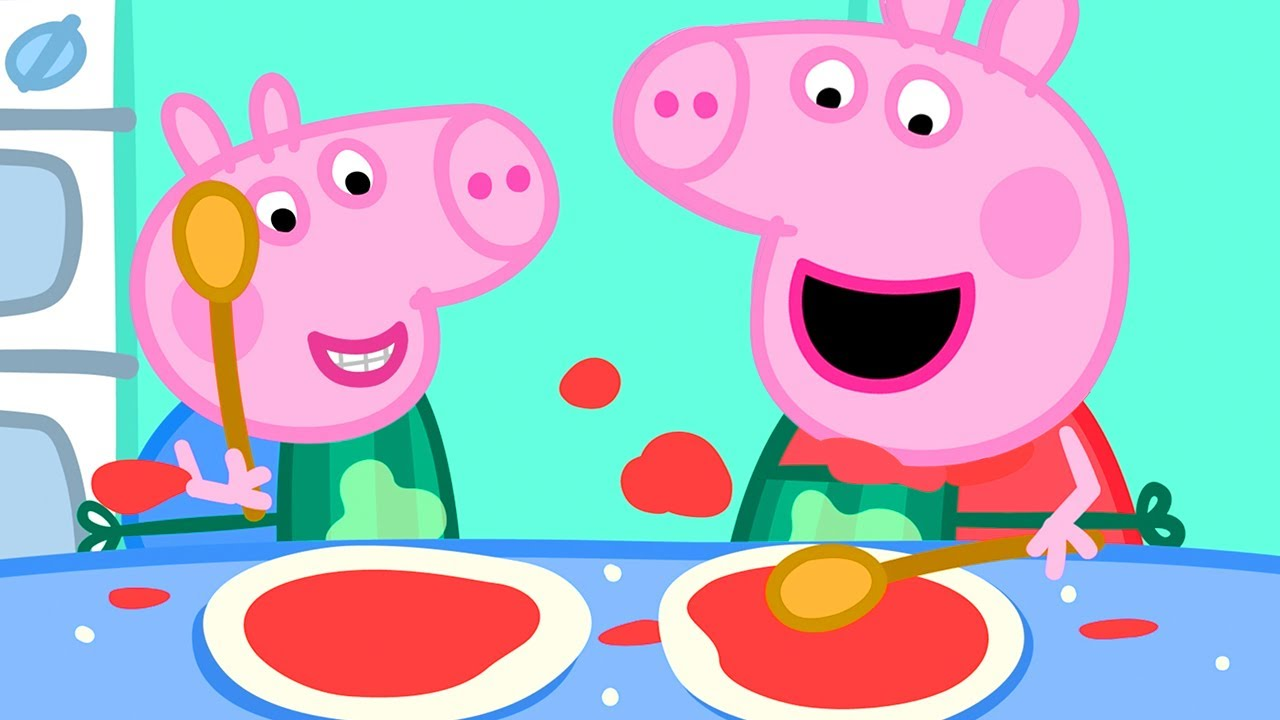 Download Peppa Pig Official Channel | Peppa Pig Makes Pizza!