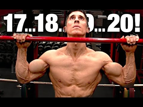 How to Do 20 PULLUPS in One Set (WORKS FAST!)