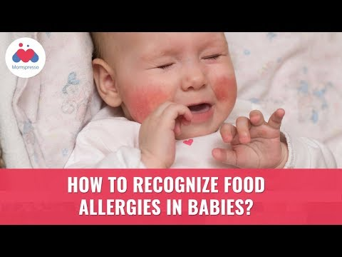 How To Recognize Food Allergies In Babies | Allergy Symptoms And Treatment