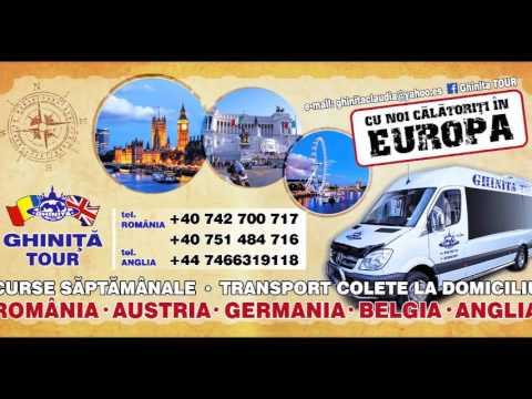Transport persoane, colete si masini pe platforma: Anglia, Germania, Italia