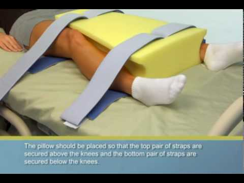 DeRoyal(R) Hip Abduction Pillow - Wide - YouTube