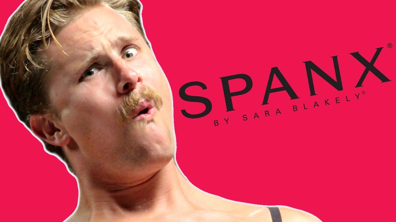 Men try on spanx youtube