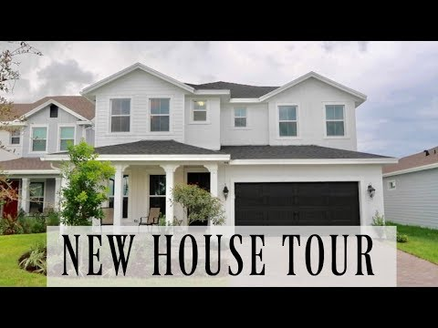 New House Tour Built by Ryan Homes 🏡 / Investment Strategy Moving Forward