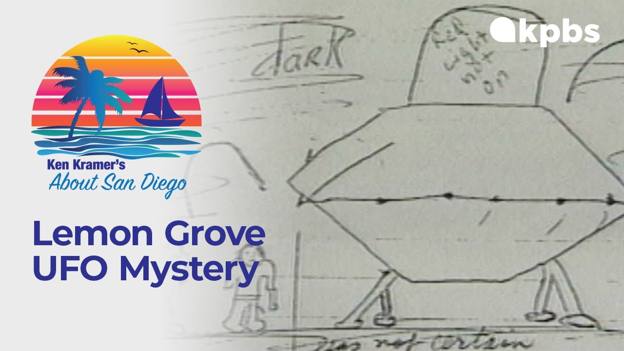 About San Diego: The Mystery Of The Lemon Grove UFO