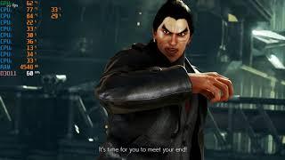 Tekken 7 Gameplay on Acer Aspire 7 (Gtx 1050Ti)