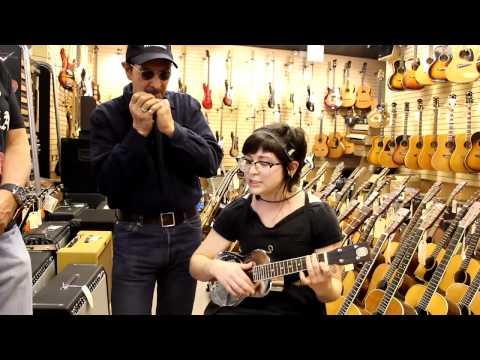 Chloe Behrens at Norman's Rare Guitars