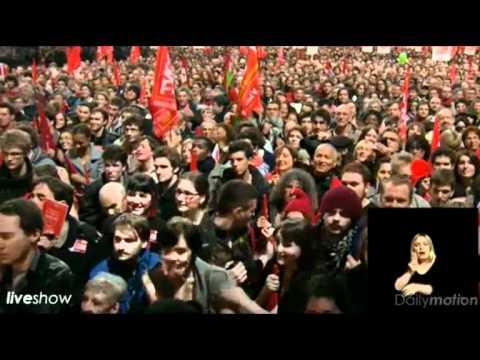 Jean-Luc Mélenchon - Meeting de la Porte de Versailles 19-04-2012