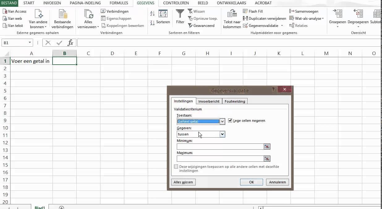 Basiscursus Excel Noordhoff Hoofdstuk 8