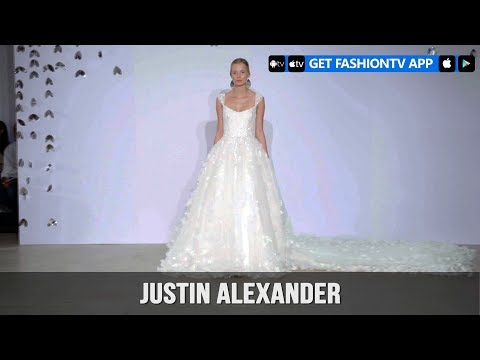 New York Bridal Fashion Week 2018 – Justin Alexander | FashionTV