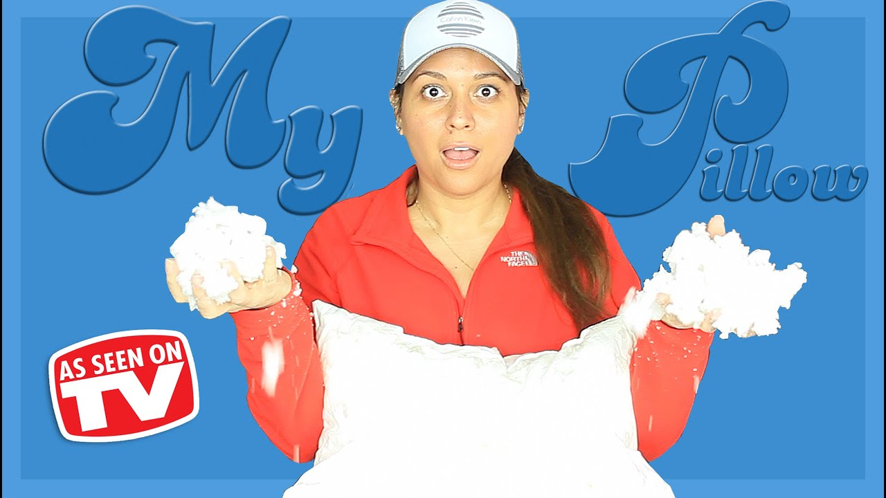 My Pillow Review What S Inside Mypillow Testing As Seen On Tv
