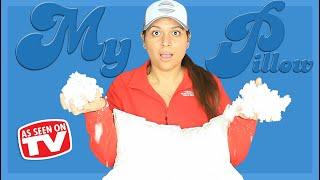 My pillow review | what's inside mypillow testing as seen on tv productscoming 1-21-21 → https://kaeute.comhere's of the and i take a p...