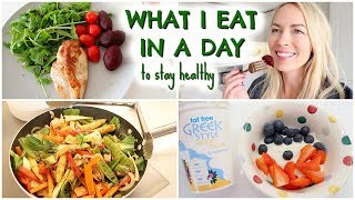 WHAT I EAT IN A DAY |  HEALTHY CALORIE COUNTING EDITION   |  EMILY NORRIS