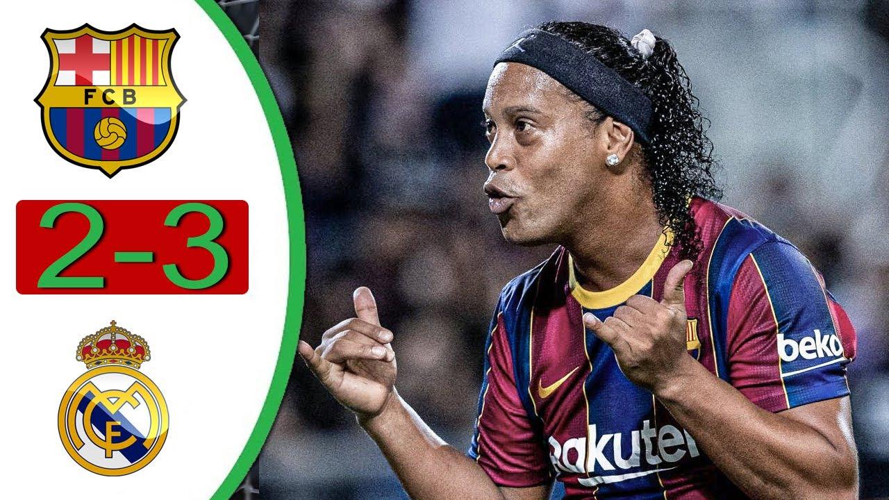 Download BARCELONA vs REAL MADRID - Highlights & Goals - Legend's Friendly 2021