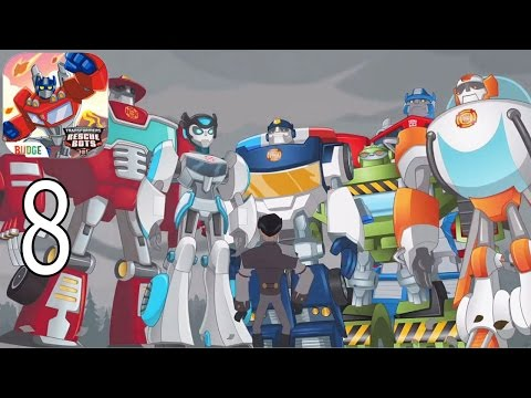 Transformers Rescue Bots: Disaster Dash Hero Run - IPhone Gameplay Walkthrough Part 8