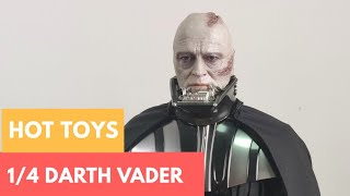 (FC4D)  HOT TOYS ROTJ Darth Vader 1/4 scale