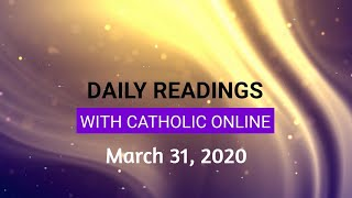 Gambar cover Daily Reading for Tuesday, March 31st, 2020 HD