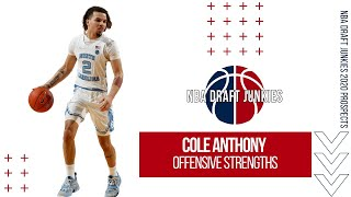 Cole Anthony | Offensive Strengths | NBA Draft Junkies 2020 Draft Prospects