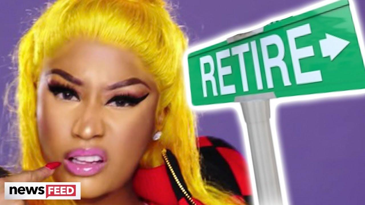 Nicki Minaj Says She's RETIRING!