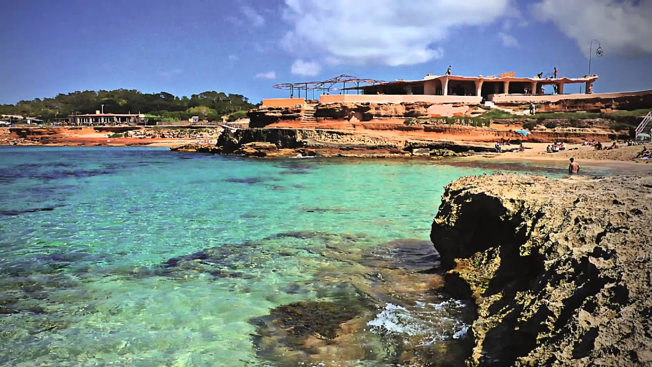 Ibiza Best Beaches Cala Conta Near San Antonio With Chill