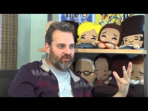 Dan Harmon Interview - Six Seasons and a Movie Art Show