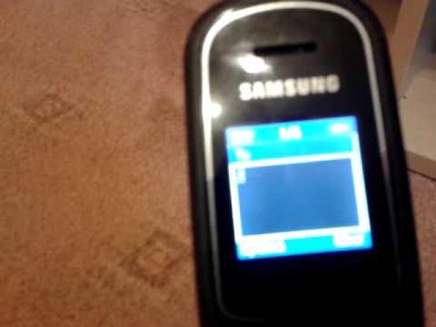 Video Revew On The Samsung Flip GT-E1150i