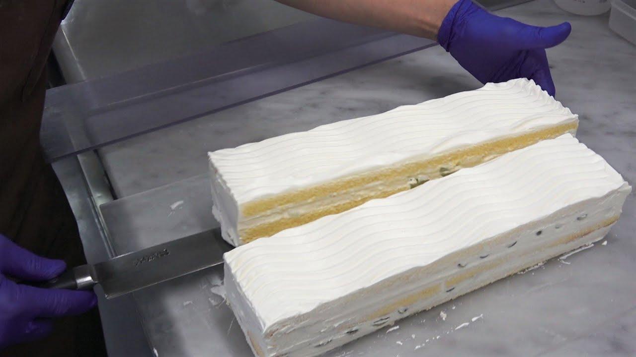 ナッペしないショートケーキの作り方♪田舎からの贈り物でケーキ作りました|ビルソンローラーズ