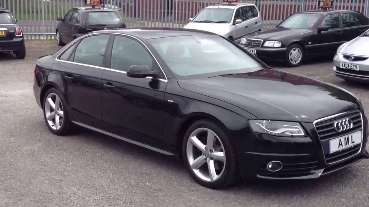 2010 audi a4 2 0 tdi s line 143ps automatic saloon 4dr youtube. Black Bedroom Furniture Sets. Home Design Ideas