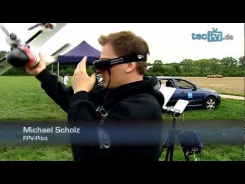 Fliegen mit Videobrille - Zu Besuch bei den Cyberpiloten