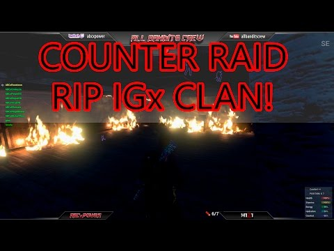 🔴 EPIC H1Z1 COUNTER RAID vs IGx on tranquility white listed server! Talk Shit, Get Hit - ABCxPowerOG